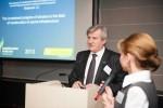 Ihor Kostenok and Yana Khomenko of EUUBC, at Diamant Conference Centre