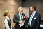 Yana Khomenko, Ihor Kostenok and Filip Vandenbroele, at Diamant Conference Centre